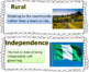 Passport to Social Studies-Grade 3: Nigeria Case Study Word Wall (2 Versions)