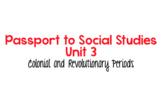 Passport to Social Studies Grade 4: Unit 3