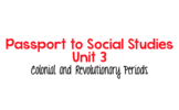Passport to Social Studies Grade 4: Unit 3