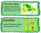 Passport to Social Studies Grade 5: DR Case Study Word Wall Cards (2 versions)