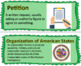 Passport to Social Studies: Grade 5 Unit 4 Word Wall Cards (2 Versions)