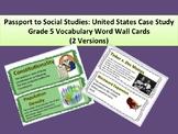 Passport to Social Studies: U.S. Case Study Grade 5 Word W