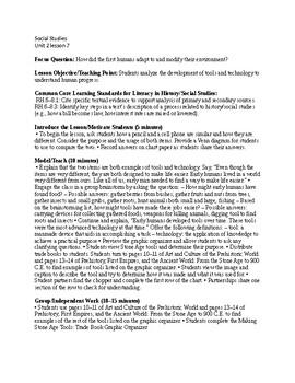 Passport to Social Studies Unit 2 lesson 7