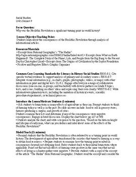 Passport to Social Studies Unit 2 lesson 9