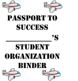 Passport to Success Student Organization Binder