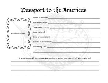 Passport to the Americas