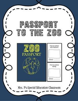 Passport to the Zoo!