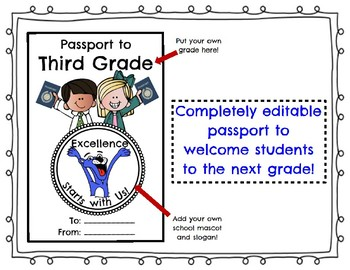 Passport to the next Grade