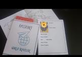 Passport world traveller