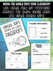 Passports for Virtual Field Trips (Easy Prep: Just Print & Fold)