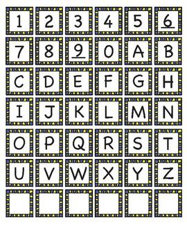 Password Bingo Template