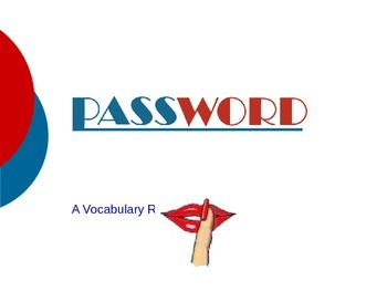 Password Game Adaptable for any subject!