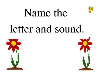 Password Letter and Sound