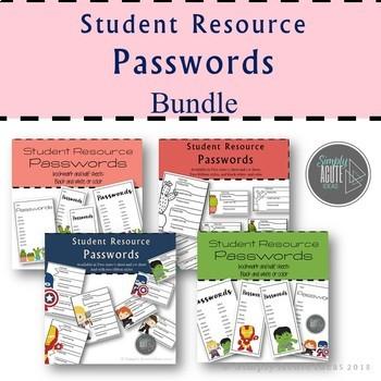 Password Student Resource
