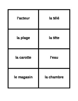 Password game in French