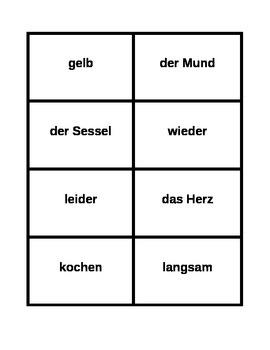 Password game in German