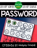 Password of the Day - Letter Names and Sounds