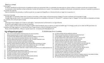 Past Continuous Tense Spanish Legal Size Photo Tic-Tac-Toe-Bingo Game