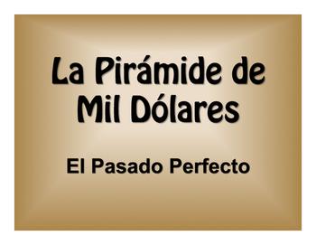 Spanish Past Perfect $1000 Pyramid Game