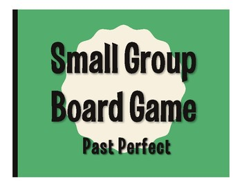 Spanish Past Perfect Board Game