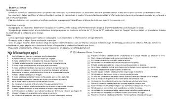 Past Perfect Continuous Tense Spanish Legal Size Photo Tic-Tac-Toe-Bingo Game