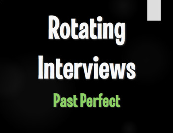 Spanish Past Perfect Rotating Interviews