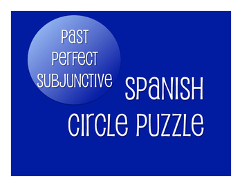 Spanish Past Perfect Subjunctive Circle Puzzle