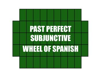 Spanish Past Perfect Subjunctive Wheel of Spanish