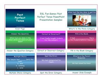 Past Perfect Tense PowerPoint Presentation