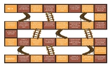 Past Perfect Tense Spanish Chutes and Ladders Board Game