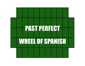 Spanish Past Perfect Wheel of Spanish