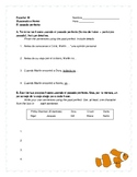 "Past Perfect Worksheet to Accompany ""Buscando a Nemo"""