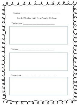 Past, Present, Future- A Primary Social Studies Unit!