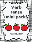 Past Present Future Tense Mini Pack