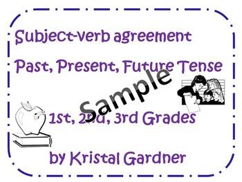 Past, Present, Future Tense - Subject-Verb agreement