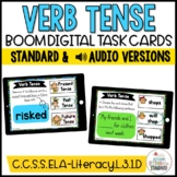 Past, Present, & Future Tense Verb Boom Cards Bundle