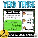 Past, Present, & Future Tense Verb Boom Cards Bundle