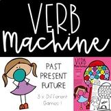 Past Present Future Tense Verbs
