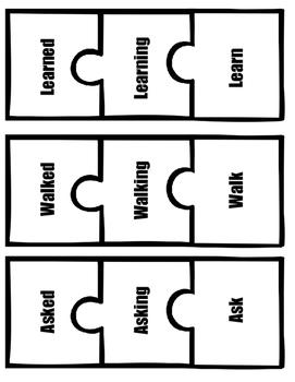 Past, Present, Future: Verb Puzzles