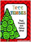 Christmas Activities - Verb Tense Sort Center (Past Presen
