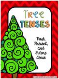Christmas Activities - Verb Tense Sort Center (Past Presen