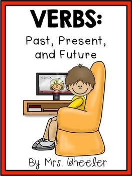 First Grade Language: Past Present Future Verbs Activities