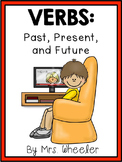 First Grade Language: Past Present Future Verbs Activities