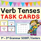 Verb Tenses Task Cards / SCOOT Game / Center