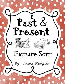 Past & Present {Picture Sort}
