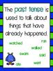 Past & Present Tense - Language Center - NO PREP - Resources & Worksheets!