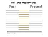 Past & Present Verb Template