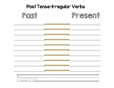 Past & Present Verb Template