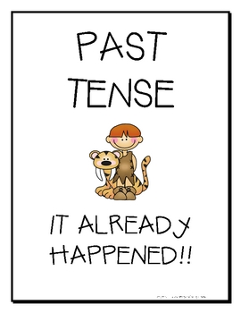 Past, Present, and Future Tense Signs