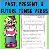 Past, Present,  and Future Tense Verbs Assessment or Practice